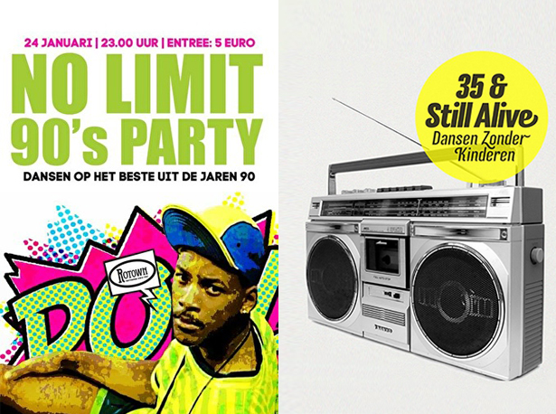 no limit 90s party 35 and still alive feestjes